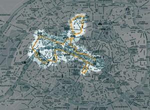 Plano do Paris by night de 4h